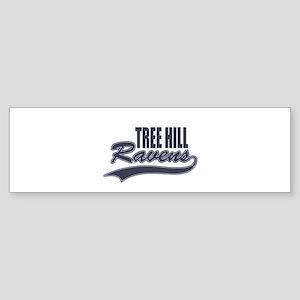 tree hill ravens Bumper Sticker