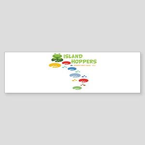 Island Hoppers Sticker (Bumper)