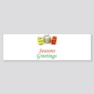 Seasons Greetings Sticker (Bumper)