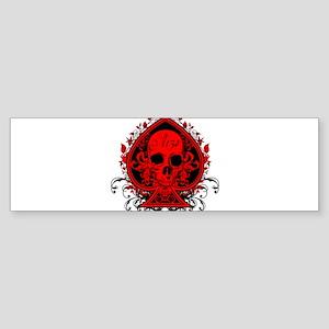 Ace Skull Sticker (Bumper)