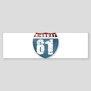 Highway 61 Sticker (Bumper)