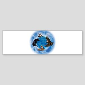 Medicine Wheel Sticker (Bumper)