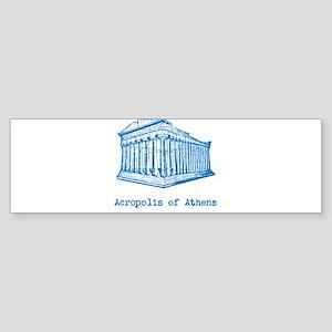 Acropolis of Athens Sticker (Bumper)