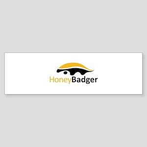 Honey Badger Logo Sticker (Bumper)