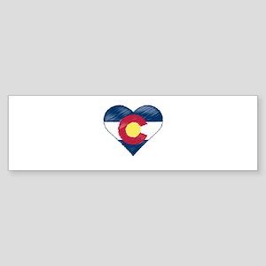 I Love Colorado Sticker (Bumper)