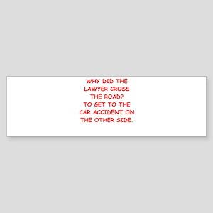 lawyers Sticker (Bumper)