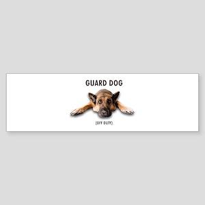 Guard Dog Sticker (Bumper)