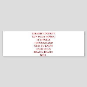 therapy Sticker (Bumper)