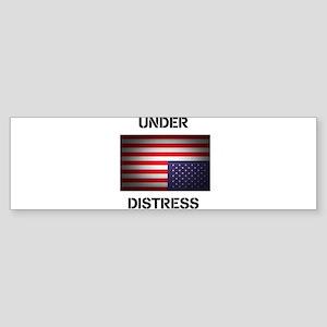 Under Distress Sticker (Bumper)