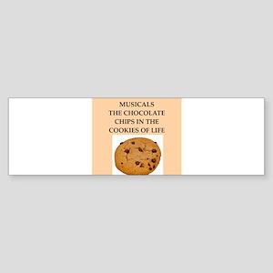musicals Sticker (Bumper)