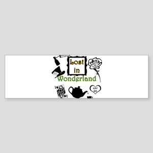 Lost in Wonderland Sticker (Bumper)