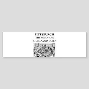 PITTSBURGH Sticker (Bumper)