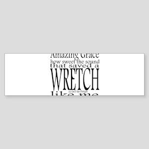 Amazing Grace Sticker (Bumper)