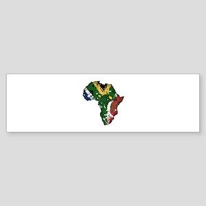 Afrika Graffiti Sticker (Bumper)