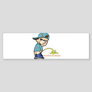 Piss on MS Sticker (Bumper)