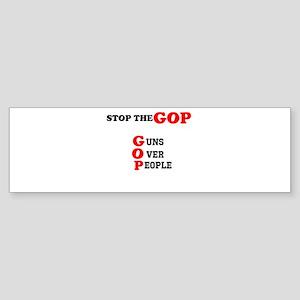 STOP THE GOP Sticker (Bumper)