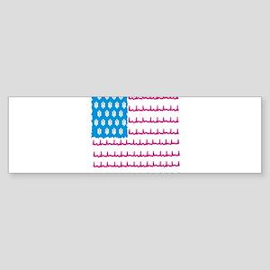 EMS flag Bumper Sticker