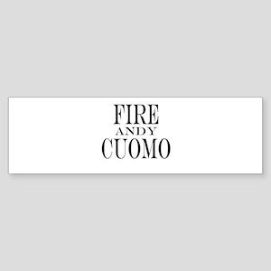 Fire Andy Cuomo Sticker (Bumper)