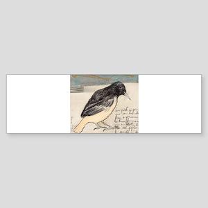 Black Bird Singing - Sticker (Bumper)