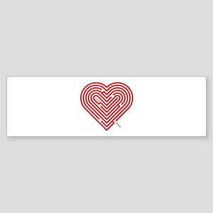 I Love Nola Bumper Sticker