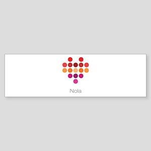 I Heart Nola Bumper Sticker