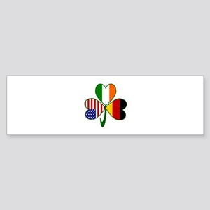Shamrock of Germany Sticker (Bumper)
