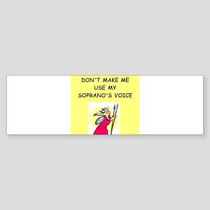 soprano, Sticker (Bumper)