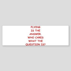 flying Sticker (Bumper)