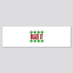 Blaze It Bumper Sticker