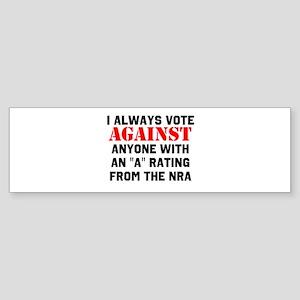 No NRA Bumper Sticker