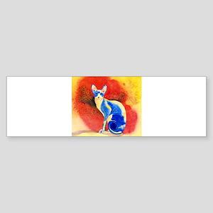 Sphynx Cat Bumper Sticker