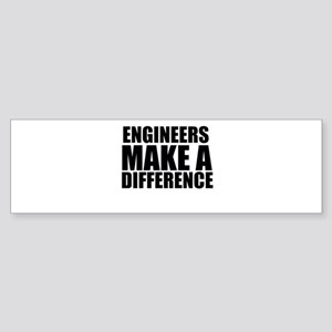 Engineers Make A Difference Bumper Sticker
