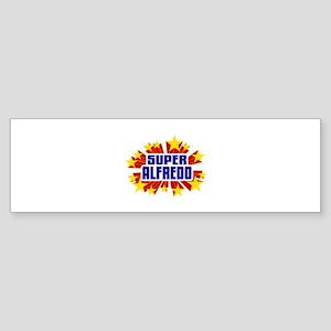 Alfredo the Super Hero Bumper Sticker