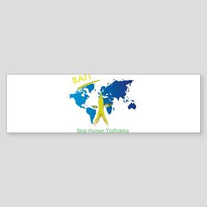 Bait! Stop Human Trafficking Bumper Sticker