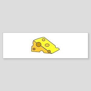 Swiss Cheese Bumper Sticker