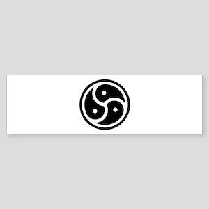 BDSM Symbol Bumper Sticker
