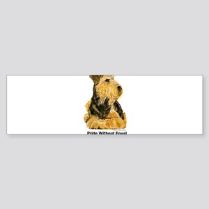 Welsh Terrier Leader of the Pack Bumper Sticker