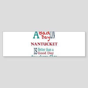 Nantucket Bumper Sticker