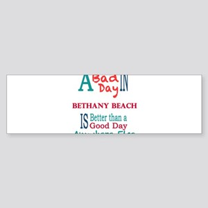 Bethany Beach Bumper Sticker
