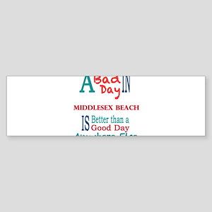 Middlesex Beach Bumper Sticker