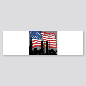 Never Forget 9-11 Bumper Sticker