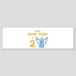 little angel custom age Bumper Sticker