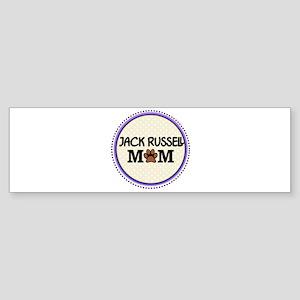 Jack Russell Dog Mom Bumper Sticker