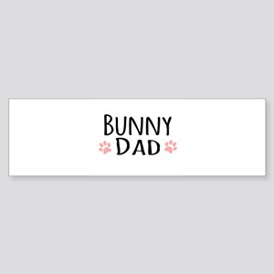 Bunny Dad Bumper Sticker