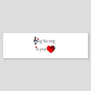 Heart Song Sticker (Bumper)