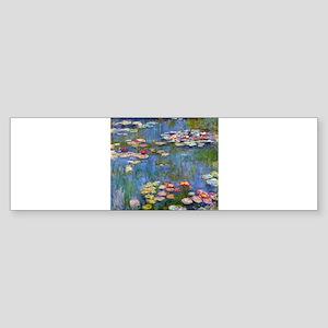 Monet Water lilies Bumper Sticker