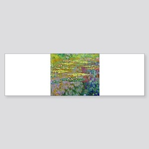 Water lilies by Claude Monet Bumper Sticker