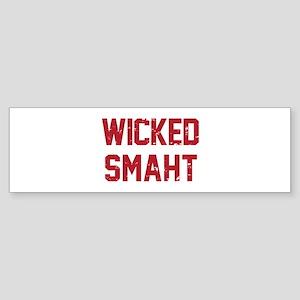 Wicked Smaht Bumper Sticker