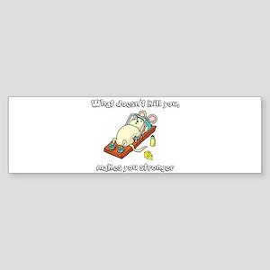 Mouse trap Bumper Sticker