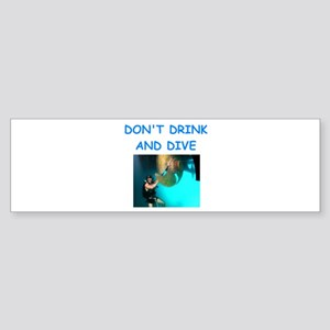 scuba diving Bumper Sticker
